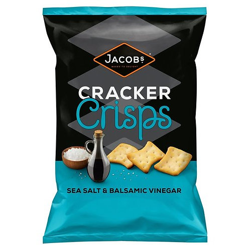Cracker Crisps Salt & Vinegar
