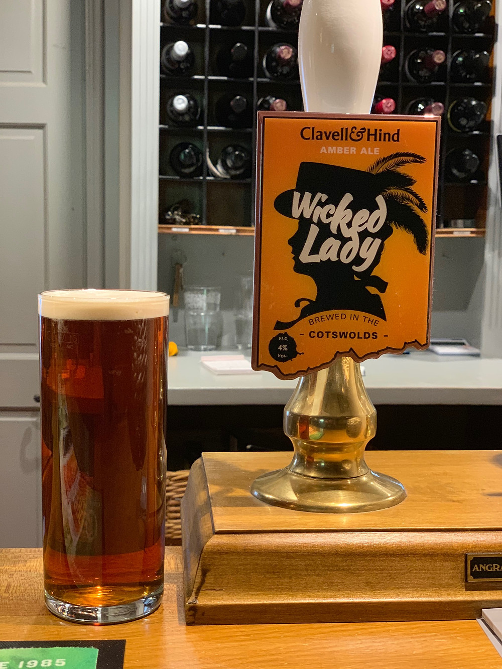 Local beer for a local pub