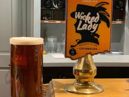 Wicked Lady - New local beer at the Horse and Groom