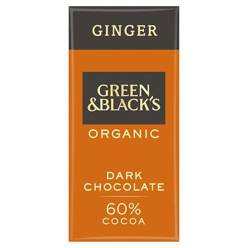 Green & Blacks Organic Ginger
