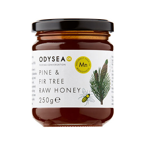 Odysea Pine & Fir Tree Raw Honey (250g)