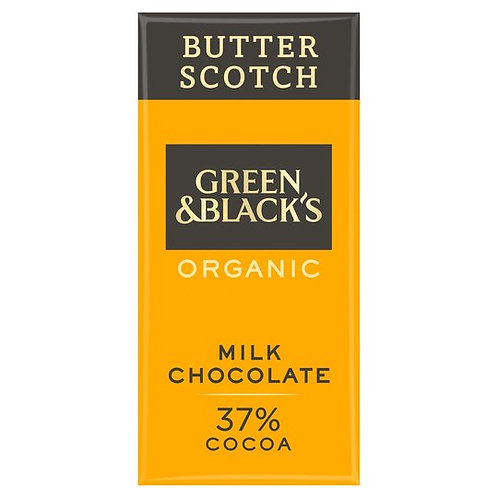 Green & Blacks Organic Butter Scotch Milk Chocolate