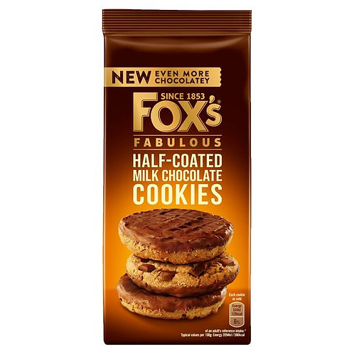 Fox's Half Coated Chocolate Cookies