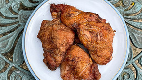 Blog #12: BBQ Season: Smoked Chicken, a Step by Step guide