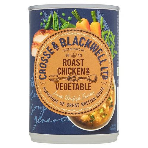 Crosse & Blackwell Roast Chicken & Veg Soup (400g)