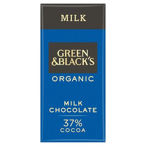 Green & Blacks Organic Milk Chocolate
