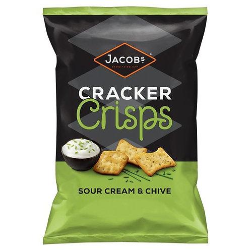 Cracker Crisps Sour Cream & Chive