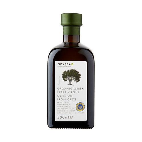 Odysea Organic Extra Virgin Olive Oil (500ml)
