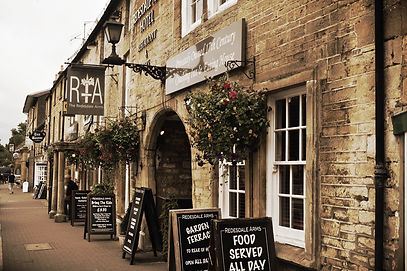 Pub in Moreton-in-Marsh, the Cotswolds