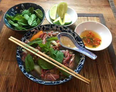 Pho (soupe vietnamienne) 16€