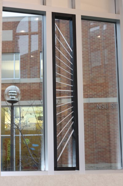 NSU Library Window Installation