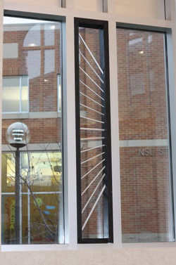 NSU Library Window Installation