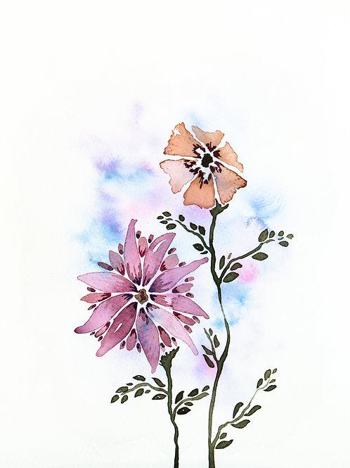 """""""Bouquet II"""" Printable"""