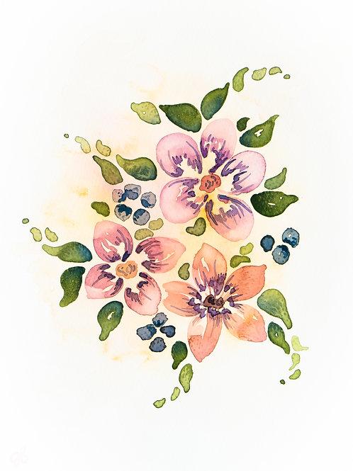 """""""Bouquet"""" Printable"""