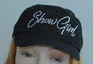 SHOWGIRL Women's Rhinestone Baseball Hat
