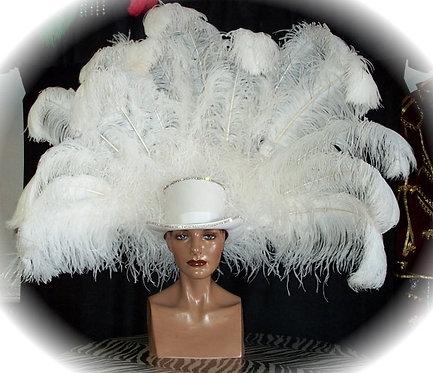 Top Hat Showgirl Headpiece
