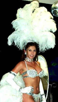 Tiara Showgirl Complete Costume