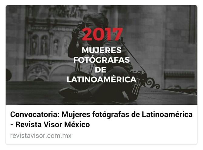 Mujeres Fotógrafas de Latinoamérica