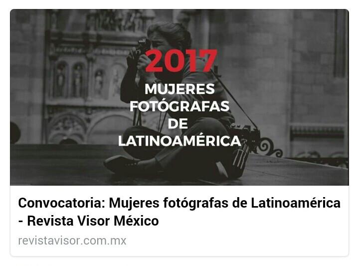 Meu trabalho fotográfico foi selecionado para ser exposto e publicado pela Revista Visor México