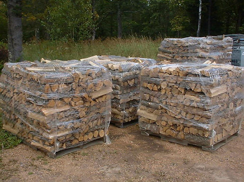 Shrink Wrapped Firewood