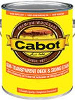 Cabot Semi Transparent Deck & Siding Stain