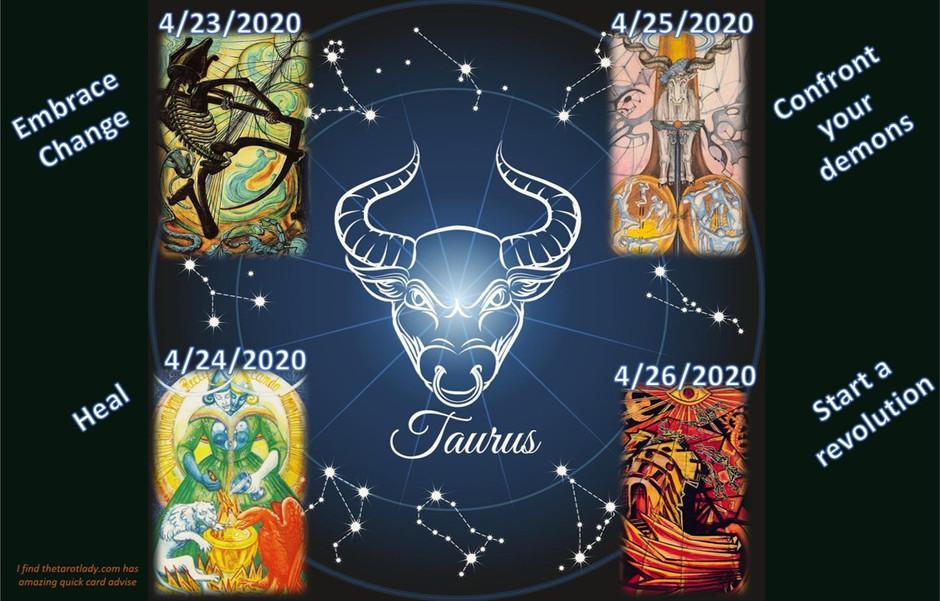 04/23 - 04/26 Daily Tarot