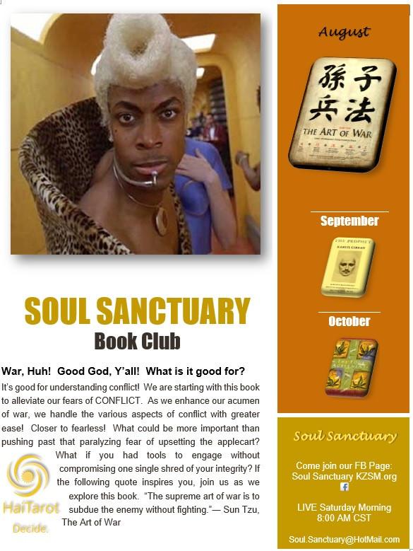 Soul Sanctuary Book Club!
