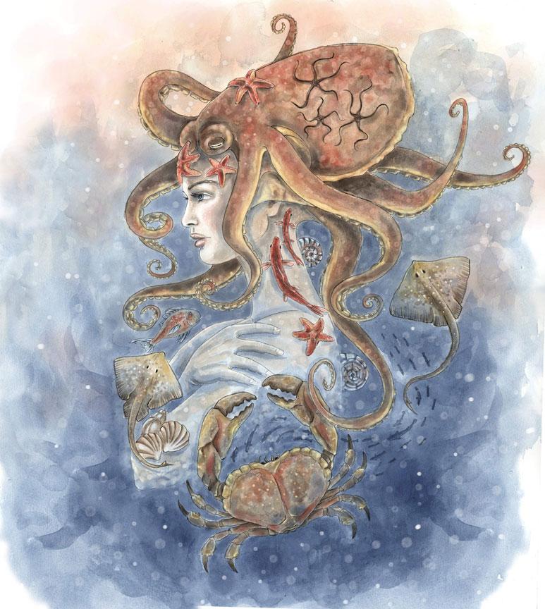 Amphitrite | Déesse de la mer