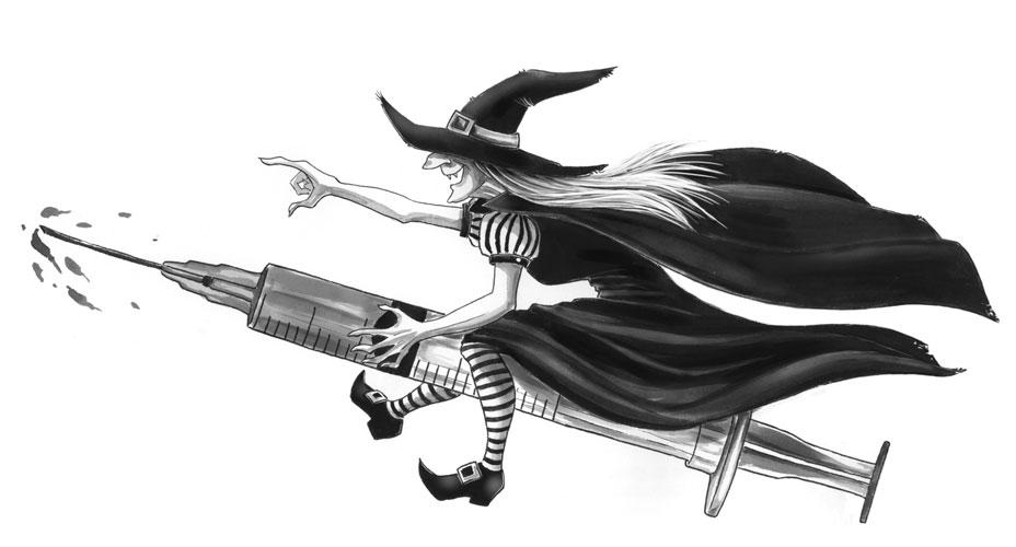 La sorcière vaccinale