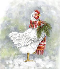 Poule de Noël