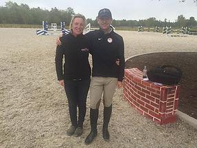Jane with McLain Ward