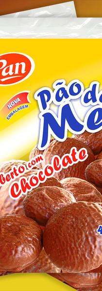 Design de embalagem. Chocolates Pan