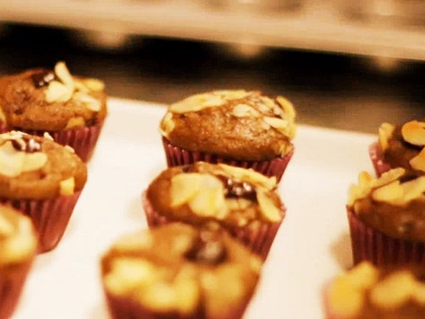 Muffin de Amêndoa