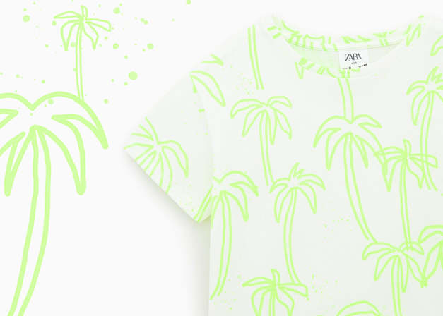 Zara Girl Palm Trees