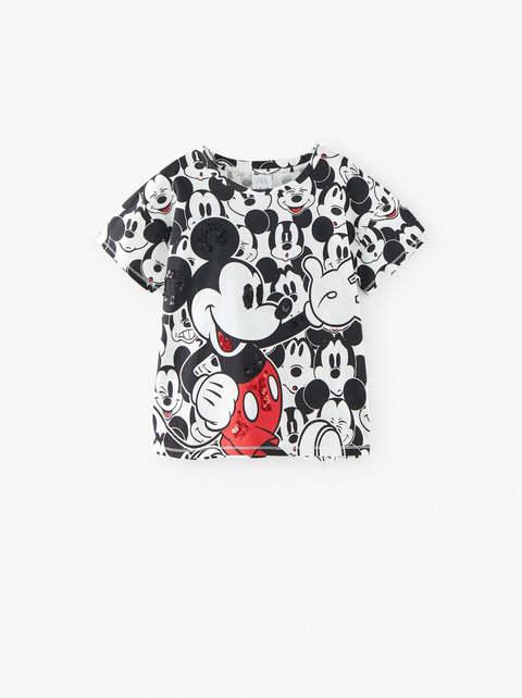 Zara Girl Sequin Mickey