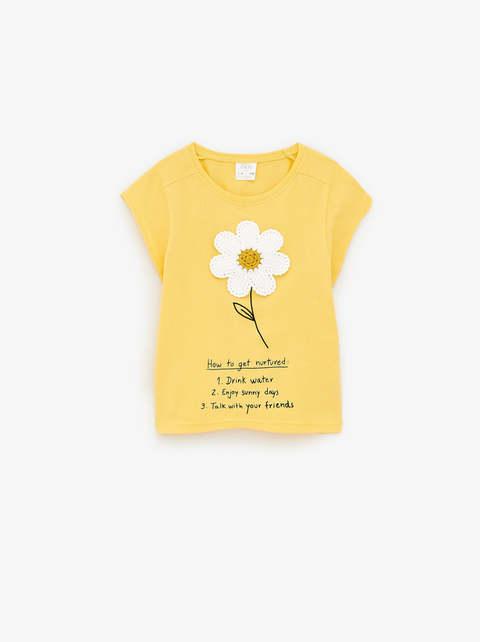Zara Girl Crochet Flower