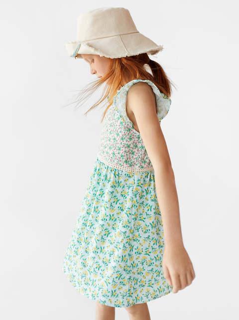 Zara Girl Floral Dress