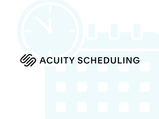 Acuity, For Online Scheduling Assistance