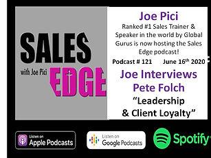 Joe Pici - Podcast with Pete Folch COMPR