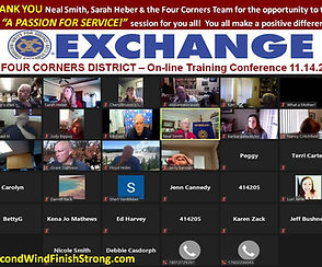 Four Corners Exchange - ZOOM Session Lin