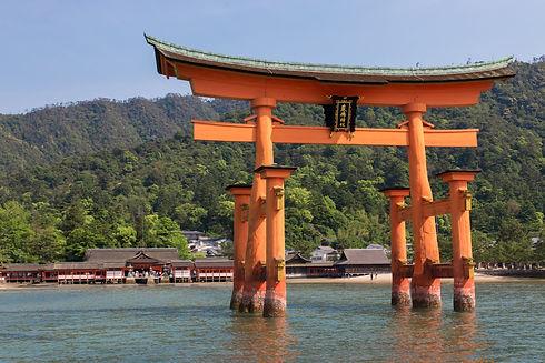 Miyajima, Itsukushima Shrine, Great Torii, Hiroshima, Hotel