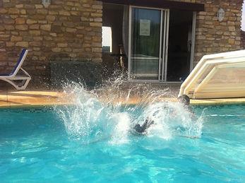 Le plongeon des vacances dans le Gard