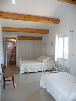 Chambre loft à l'étage