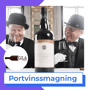 Portvinssmagning Gila vin