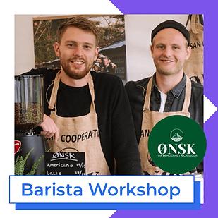 Barista workshop Ønsk coffee