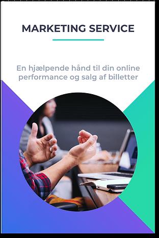 Online marketing service events