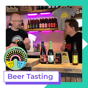 People like us beer tasting