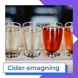 Cider-smagning