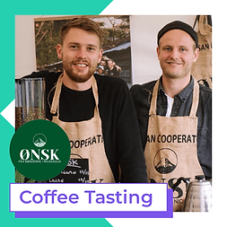 ønsk coffee tasting