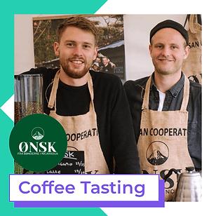 ønsk coffee tasting